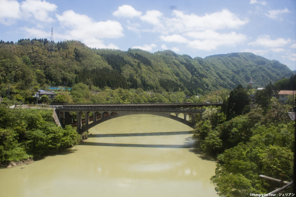 Backcountry train to Takayama